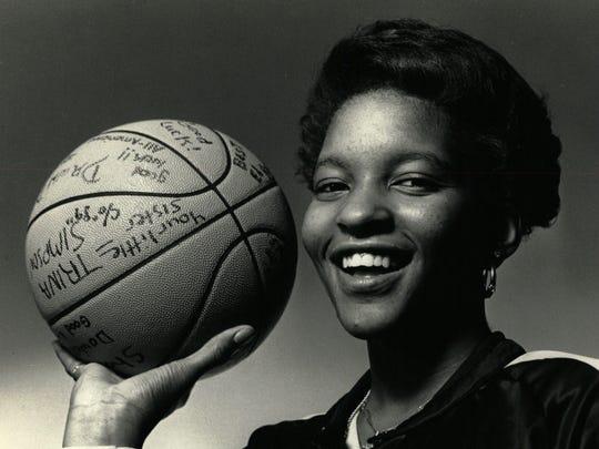 Daedra Charles-Furlow, the 1986 Michigan Miss Basketball