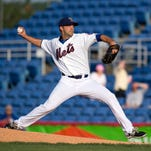 Gallery: Dillion Gee makes rehab appearance with B-Mets
