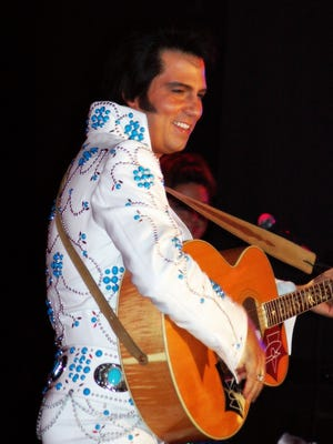 """Danny Vernon brings """"the Illusion of Elvis"""" to the Suquamish Clearwater Casino Resort's event lawn Aug. 3."""