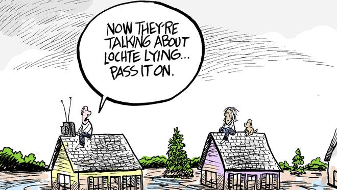 Marshall Ramsey cartoon for Aug. 23, 2016