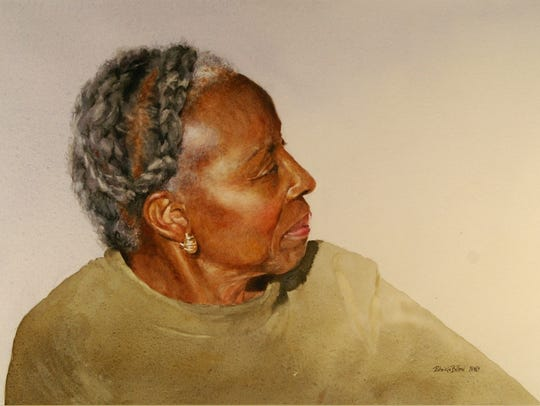 """""""Catherine"""" is a watercolor by Patricia Billeci of"""