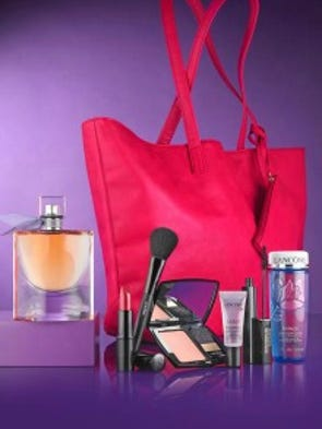 Does your mom love perfume and beauty goodies? Give your mom the sweet scent of La Vie Est Belle ($42-$108) and get a tote filled with Lancome products ($44.50 with purchase).