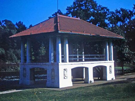 The Seneca Park Bandstand that once drew huge concert crowds for decades is just a memory.