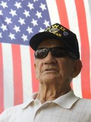 Former Sgt. Bill Schisler of North Fort Myers