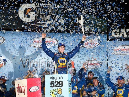 USP NASCAR: VIRGINIA 529 COLLEGE SAVINGS 250 S CAR USA VA