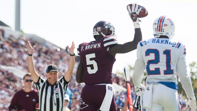 Former Mississippi State wide receiver Fred Brown addressed his dismissal from the university on Thursday.