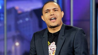 """Trevor Noah performs on the """"Tonight Show With Jay Leno"""" on Jan. 6, 2012."""
