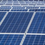 The 3300 solar panels on the Vizco company lot sprawl across 10 acres and produces upwards of 1 million kilowatts annually.