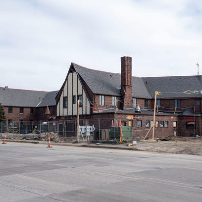 Developers said a year from now the St. Clair Inn will