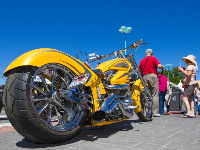 A photograph taken during the Street Vibrations Spring