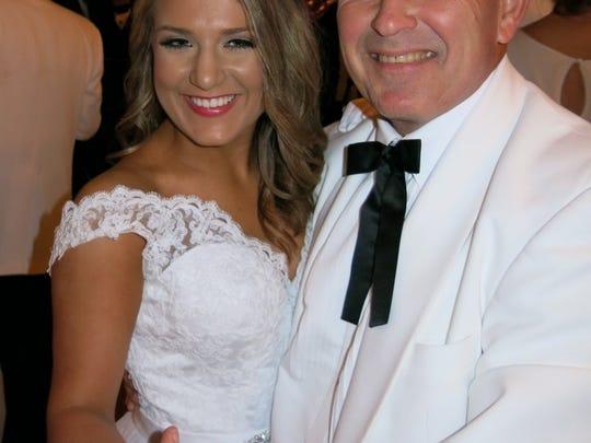 Margaret Anne Montgomer and dad, Jerry Montgomery,