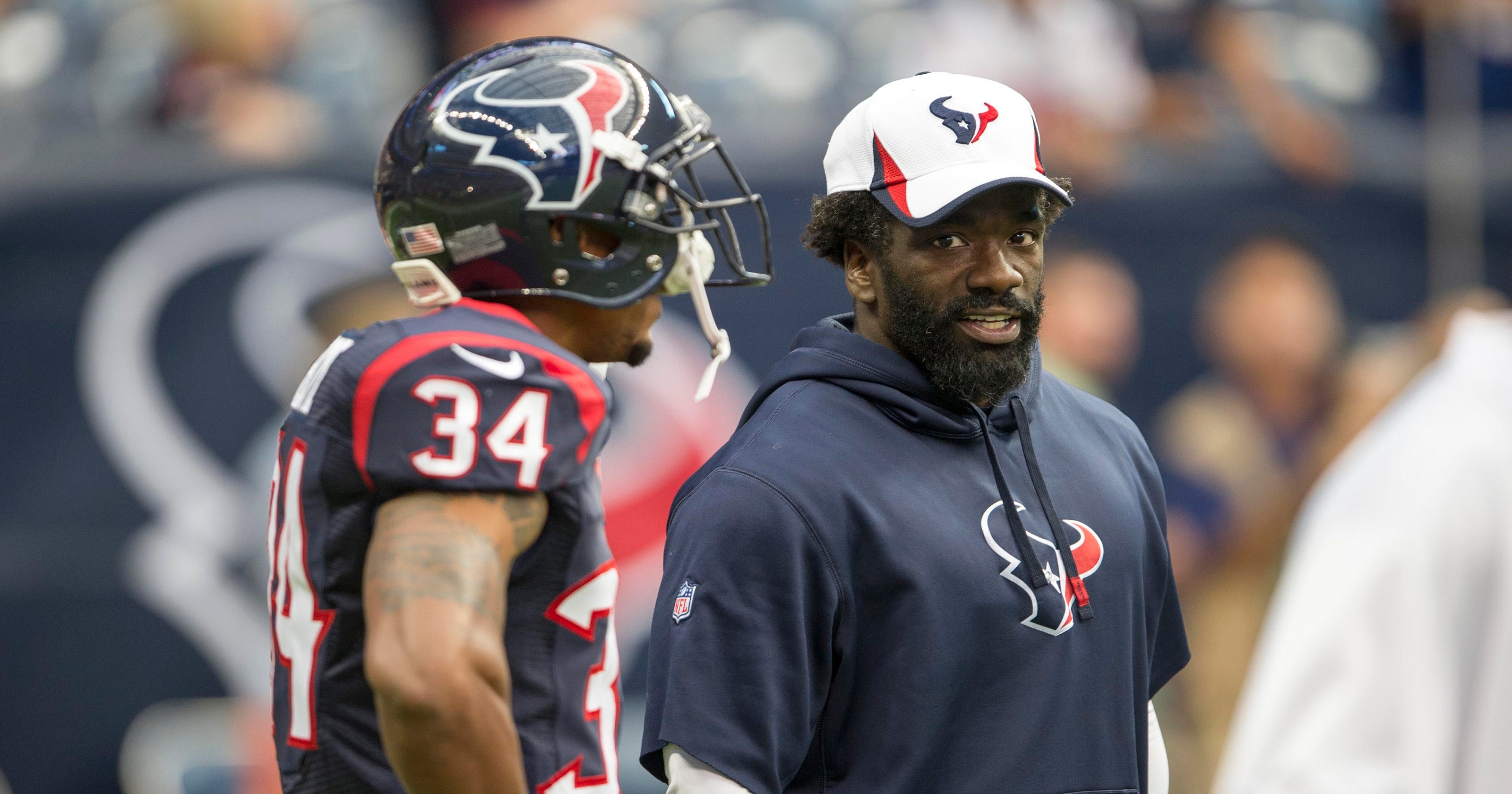 new arrival 17244 eb1af Ed Reed has chance to play in Texans' opener