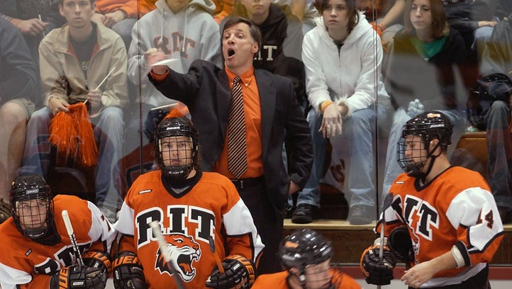 RIT coach Wayne Wilson learned a lot from NHL GM George McPhee