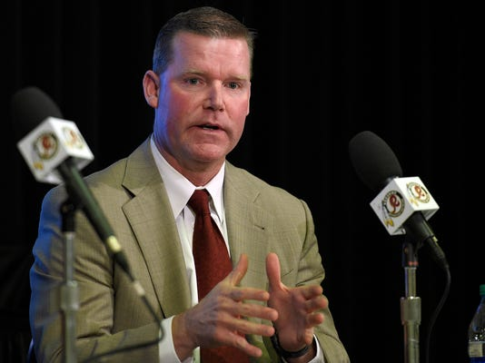 Redskins GM's wife sorry for tweet about reporter