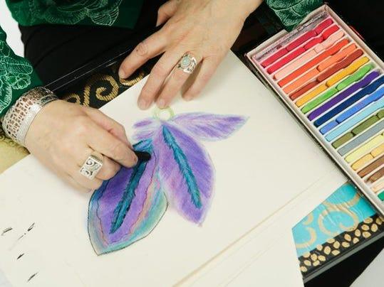 art pastel drawing