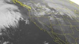 NOAA satellite image taken Tuesday, Feb. 10.