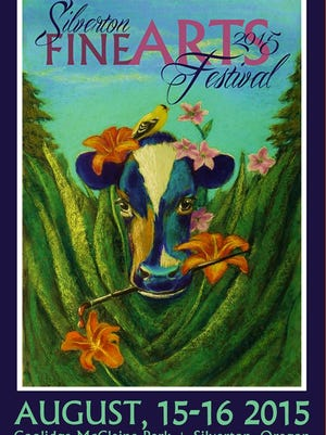 Jane Castelan Buccola's painting is featured on the 2015 poster of the Silverton Fine Arts Festival.