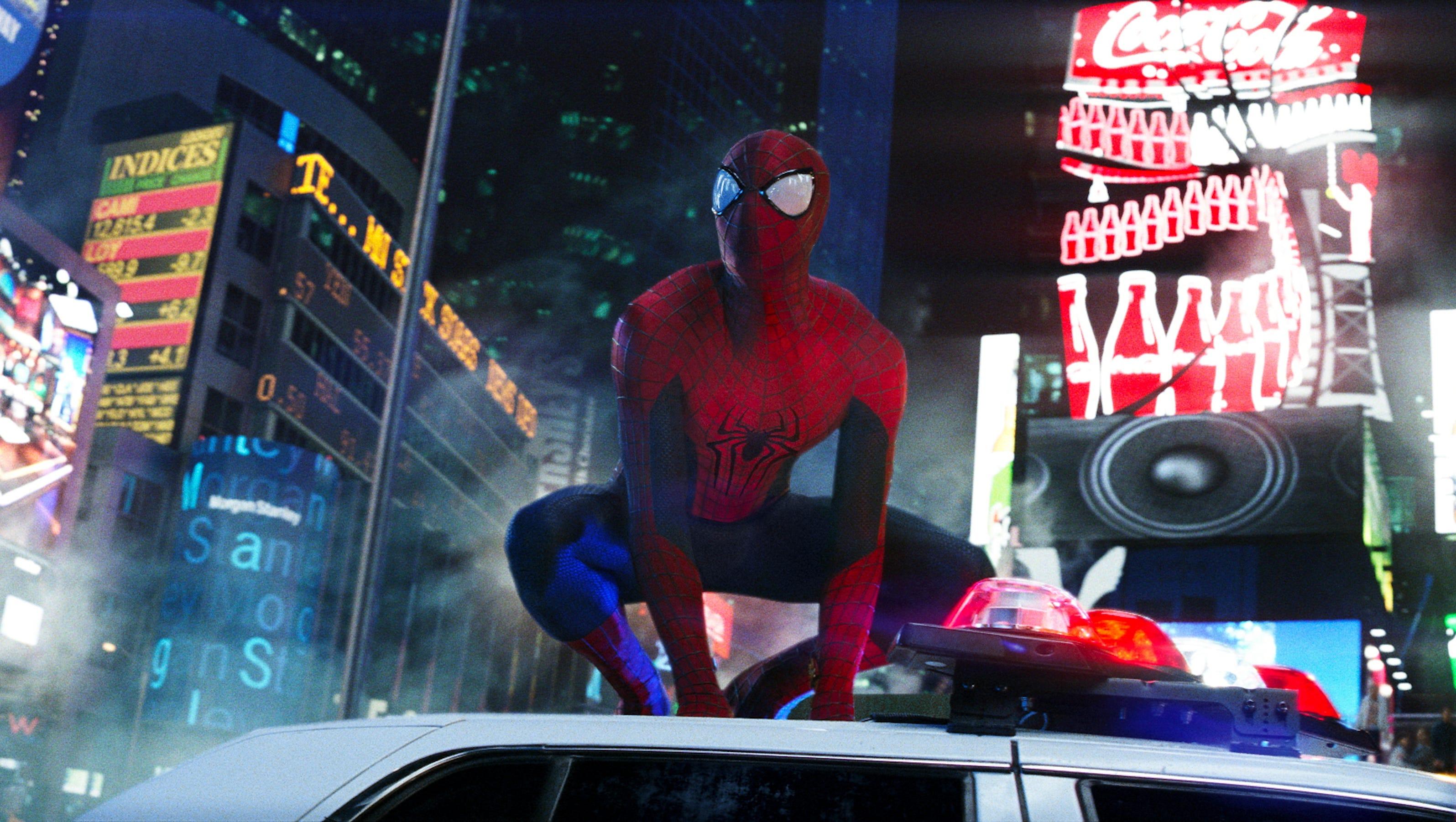 Посмотреть новый человек паук высокое напряжение 14 фотография