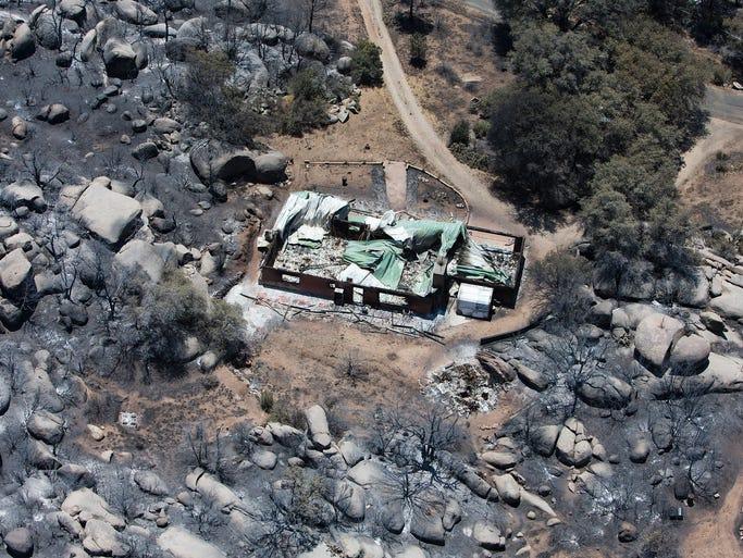 Were The Granite Mountain Hotshots Burned To Death Arizona