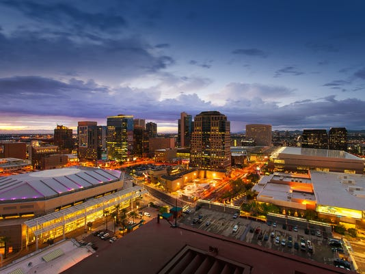 Phoenix Skyline, Arizona