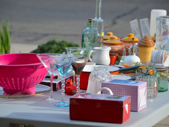It's prime time for garage sales.