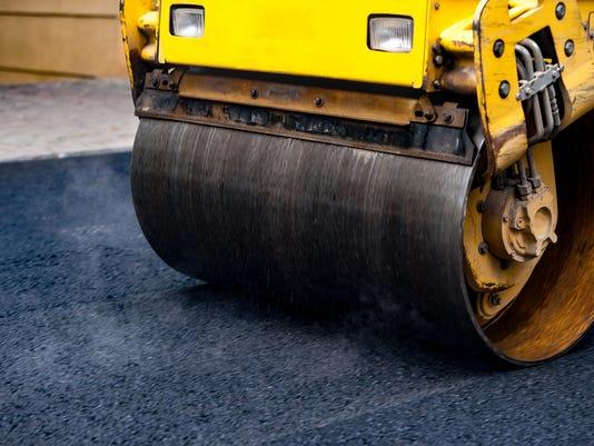 Paving asphalt stock presto #stock