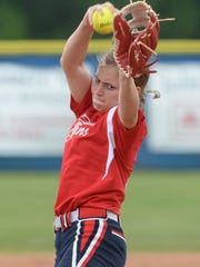Emma Callie Delafield threw 11 strikeouts in the Griffins
