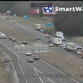 Accident shuts down westbound lanes of I-24 at Joe B Jackson Pkwy