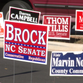 If you take a look at the sea of campaign signs in Iredell County you might see a few holes. That's because signs are being ripped right out of the ground, which some candidates say could be a huge hit for their campaigns.
