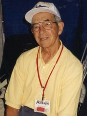 Ernie Wentzlaff, a Pearl Harbor survivor who died in 2013, spent some of his post-military years on a farm near Milaca. He is shown in a photo from the late 1990s.