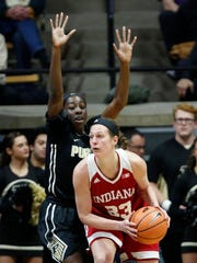 Amanda Cahill of Indiana is denied a shot opportunity