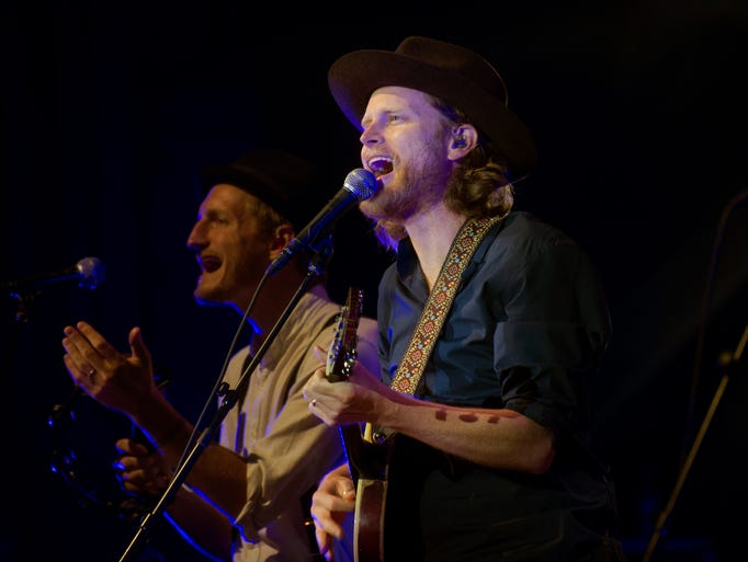 The Lumineers, an indie rock band, perform a sold out