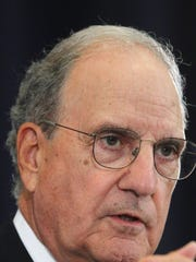 "George Mitchell said, ""The position of majority leader is far more difficult than the position of minority leader."""