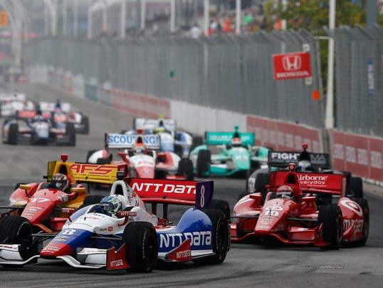 IndyCar race in Toronto earlier this year. (Photo: Chris Trotman Getty ...