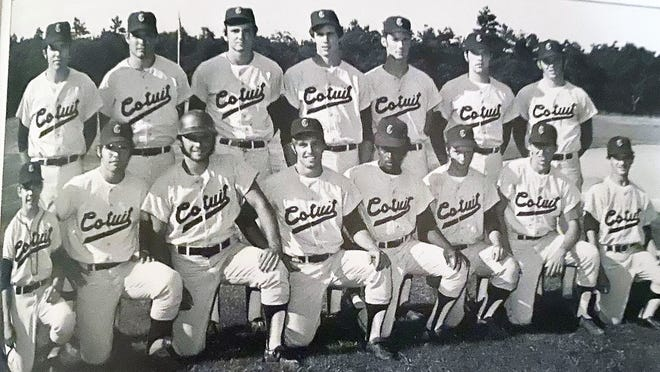 In 1971, Manager Jack McCarthy's Cotuit roster included John Varga, Brian Shecker, Mike Johnson, Charlie Manley, Bill Souza, Eddie McMahon, Bob Roemer, Jim Summers, Rick Burley, Ty Brennan, Rico Phillings, and Don Douglas.