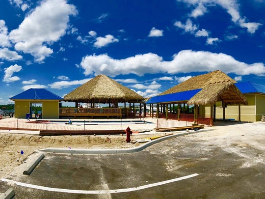 Boathouse 31 will feature 7,700 square feet of tiki hut space.