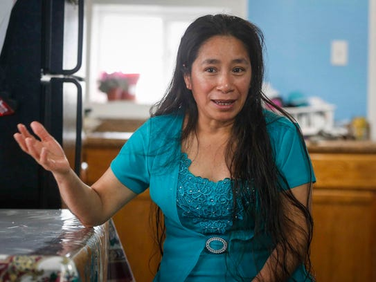 Rosa Zamora of Postville describes what it was like