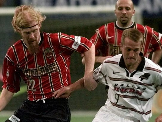Alexi Lalas has long gotten rid of the long, red locks,