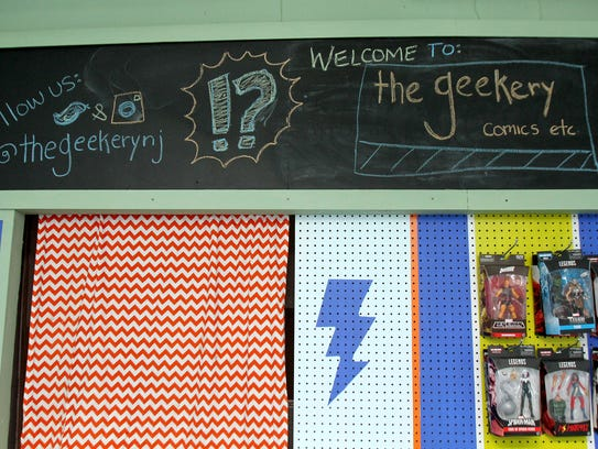 The outside of The Geekery on Matawan's Main Street.