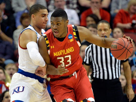 Mar 24, 2016; Louisville, KY, USA; Maryland Terrapins