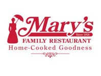 20% off Coupon for Mary's Family Restaurant