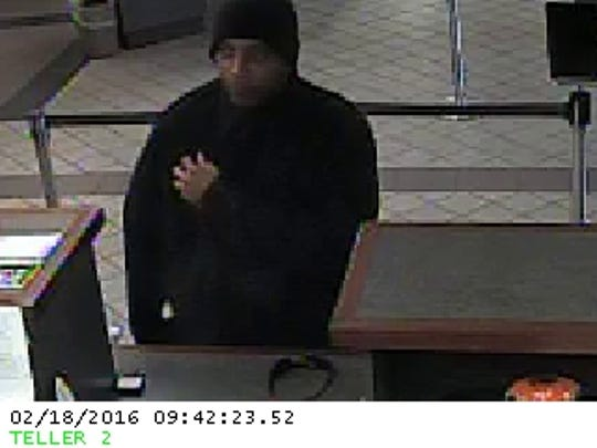 Tallahassee Police say this man is responsible for the Thursday robbery of the First Florida Credit Union on Old St. Augustine and Blair Stone roads.