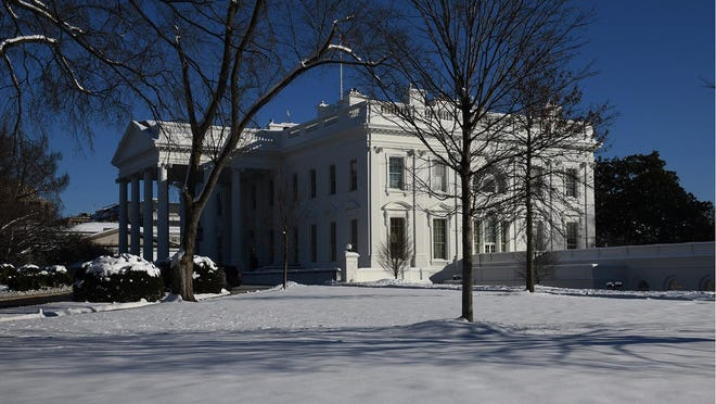 A Georgia man accused of plotting to use an anti-tank rocket to storm into the White House was arrested in a sting Wednesday after he traded his car for guns and explosives, authorities said.