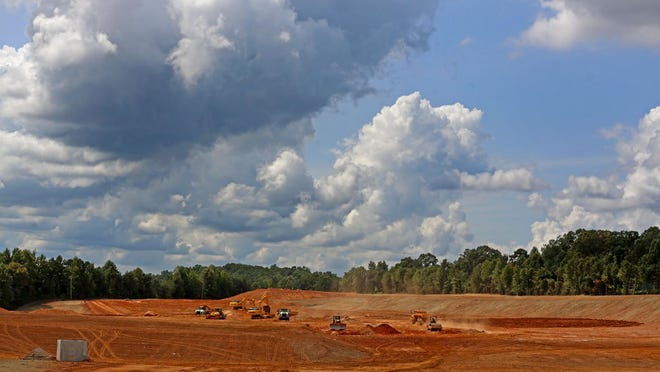 Clearing continues for the future Catawba Indian Nation's Two Kings Casino Resort.