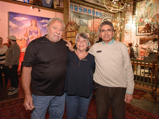 From left, Joe and Linda LaTempa and founder Louis Perticone.