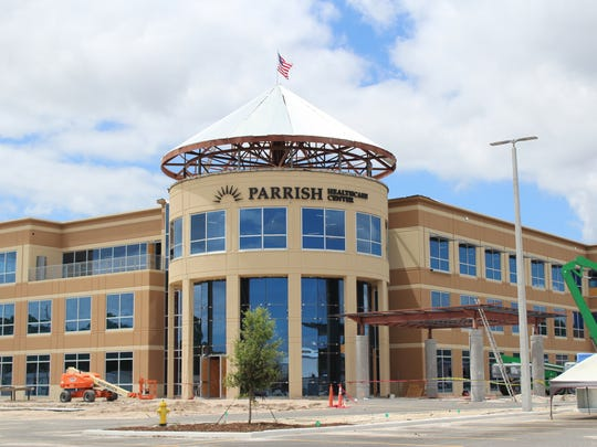 The new Parrish Medical building at Titus Landing is