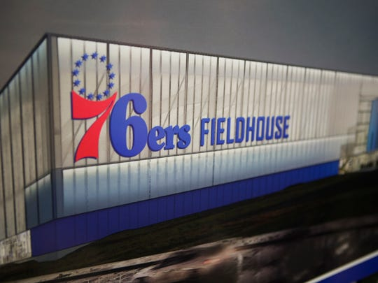 The new sports complex is to be named the 76ers Fieldhouse.