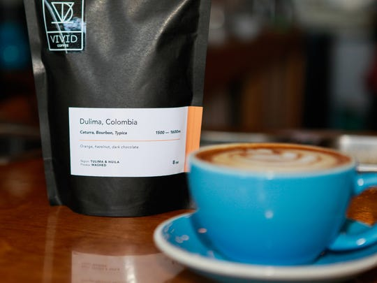 """Vivid Coffee in Winooski specializes in what the company refers to as """"micro-lot"""" coffee sourced from small farms."""