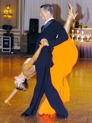 Professional ballroom dancer and instructor Mayo Alanen,