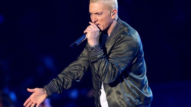Eminem releases new single, 'Detroit vs. Everybody.'